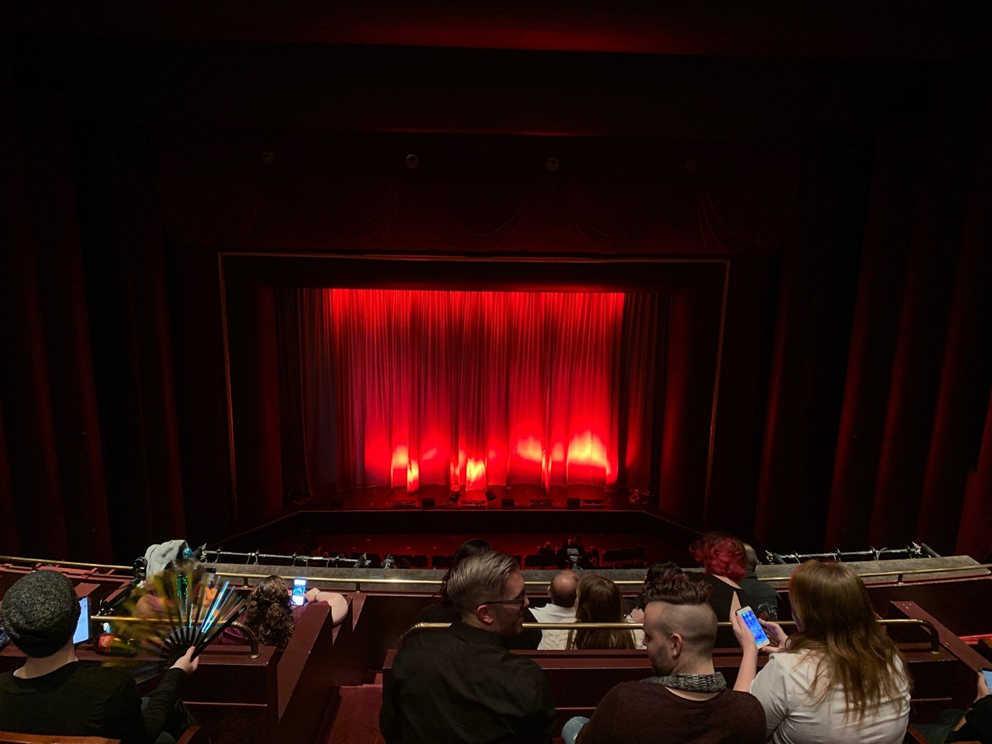 Brown Theater at the Wortham Center Section Grand Tier Row F Seat A6