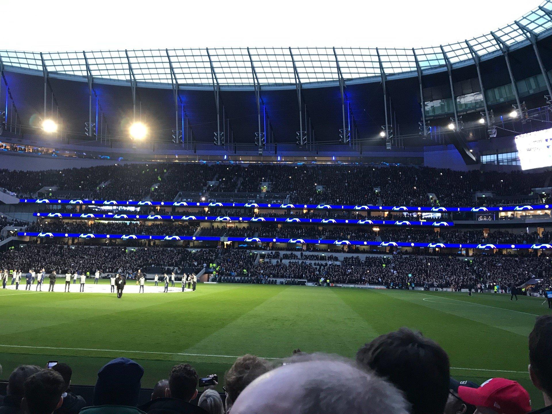 Tottenham Hotspur Stadium Section 119 Row 6 Seat 594