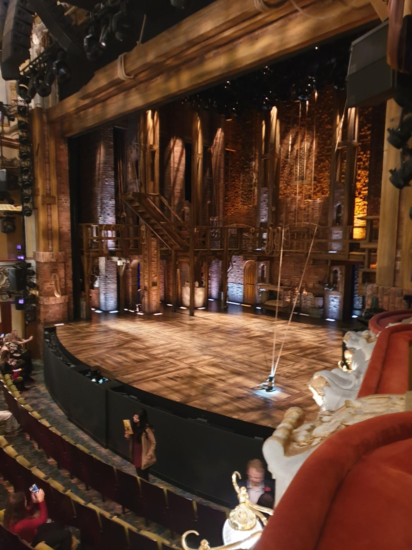 Victoria Palace Theatre Section RCBOXA Seat 2