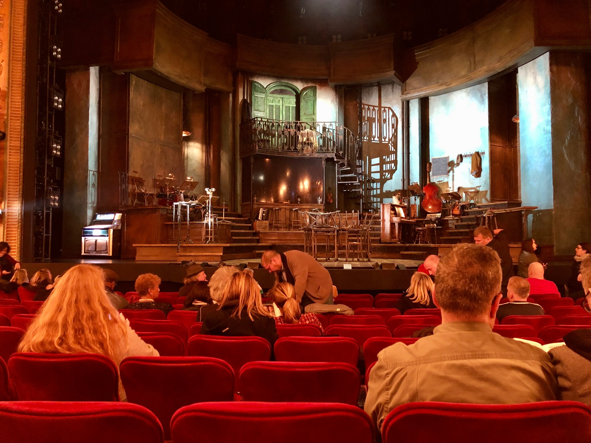 Walter Kerr Theatre Section Orchestra C Row M Seat 105
