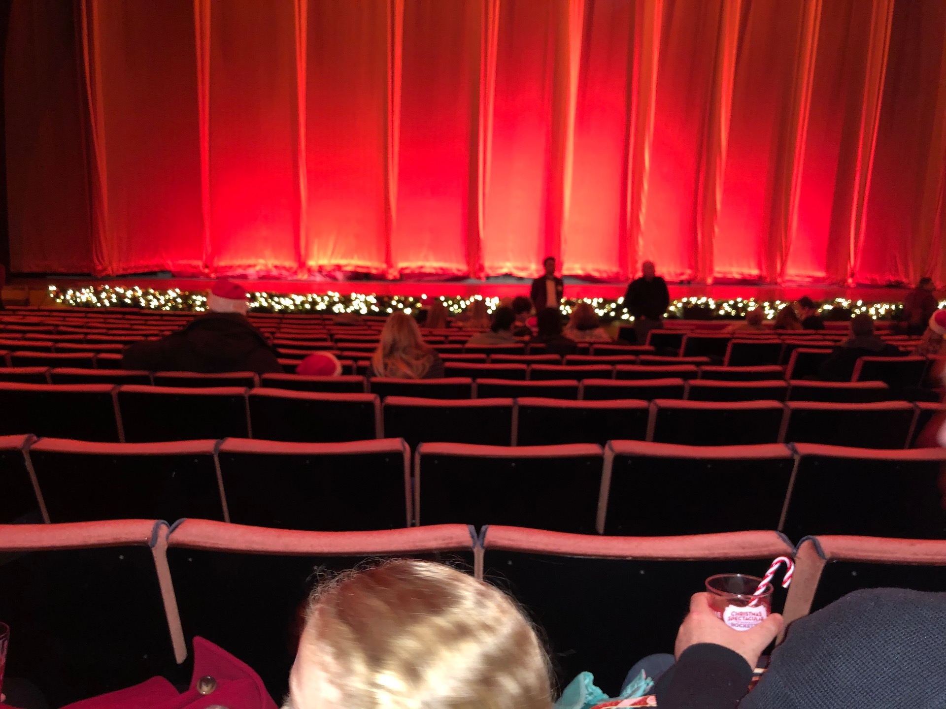 Radio City Music Hall Section Orchestra 5 Row OO