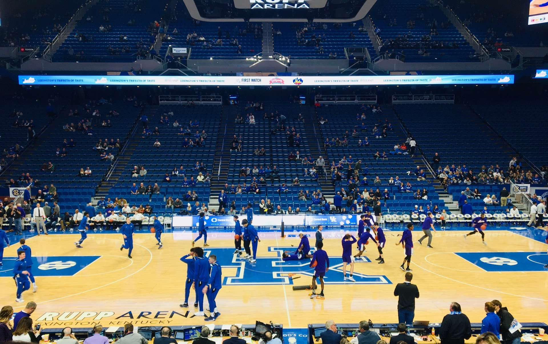 Rupp Arena Section 14 Row G Seat 9