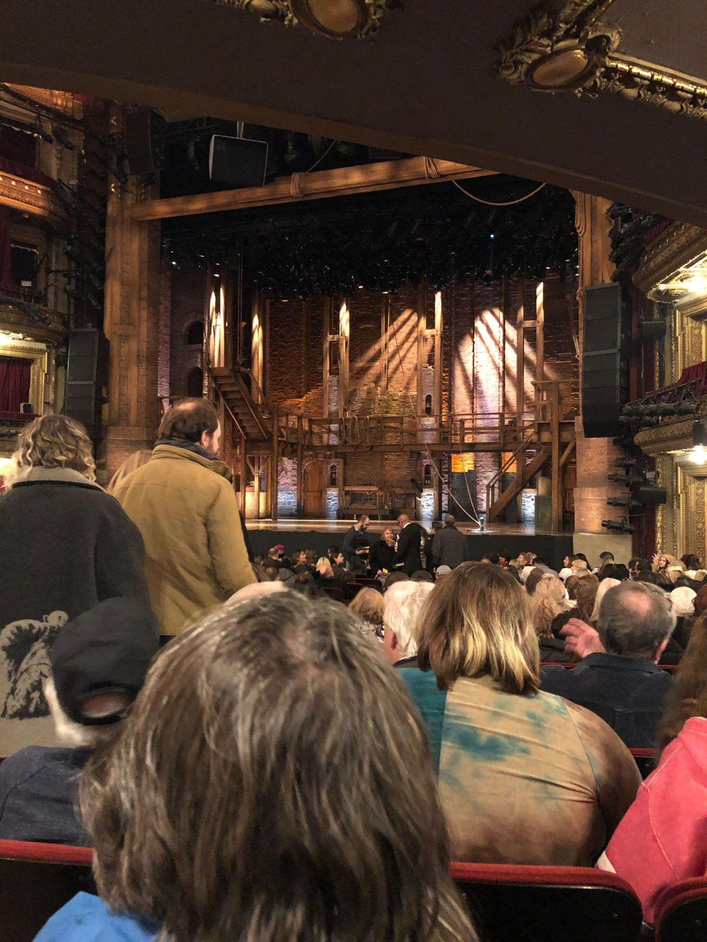 CIBC Theatre Section Orchestra R Row U Seat 2