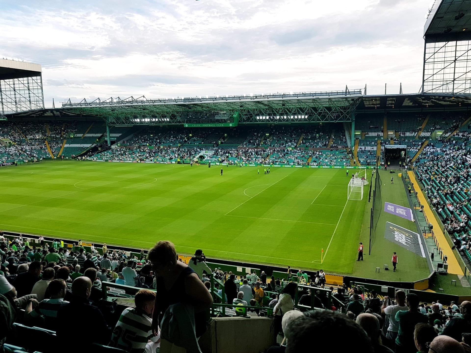 Celtic Park Section 201 Row RR Seat 13