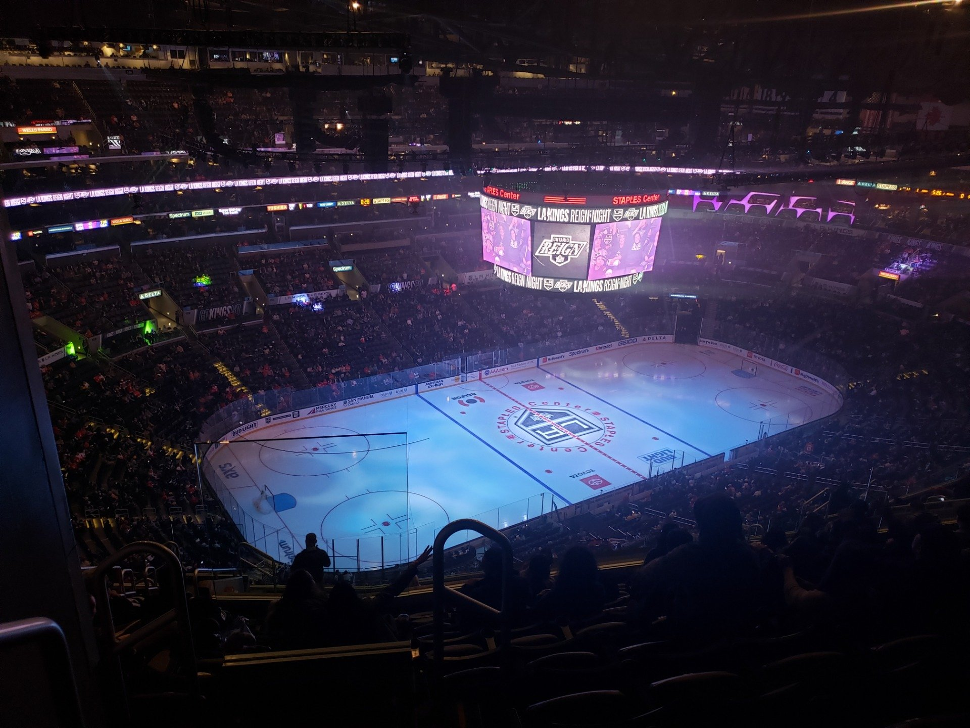 Staples Center Section 304 Row 15 Seat 24