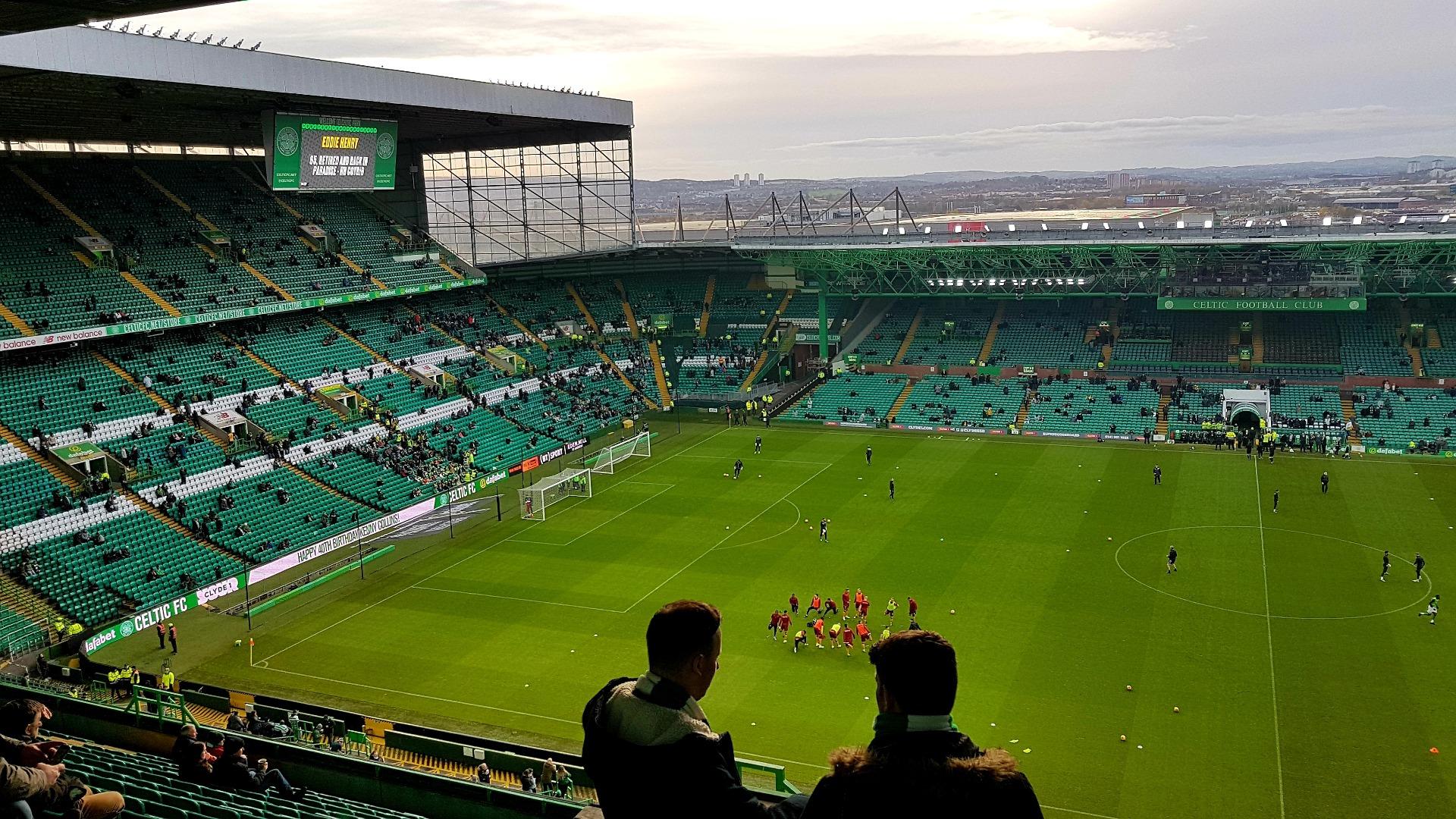 Celtic Park Section 406 Row Q Seat 7