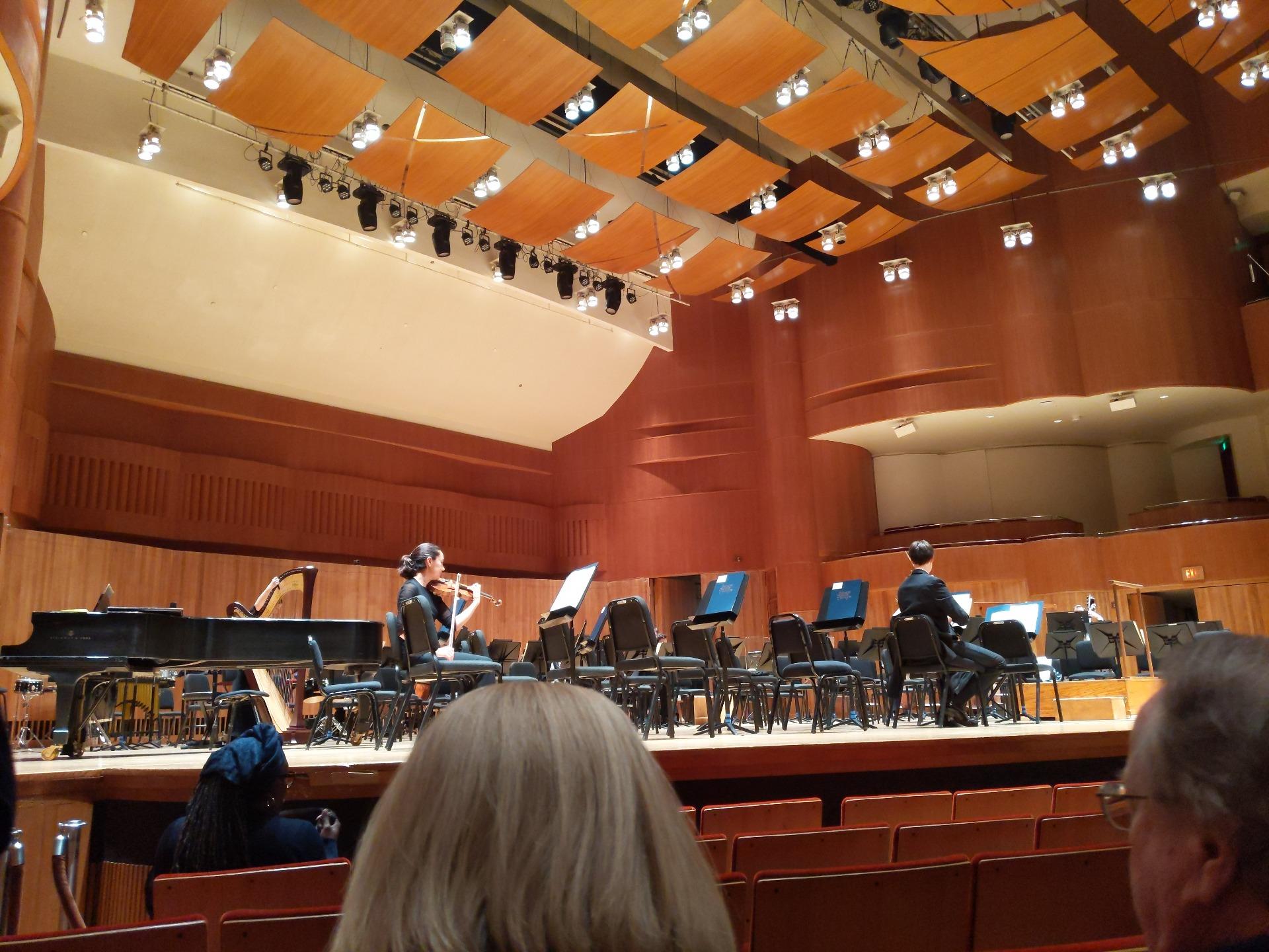 Joseph Meyerhoff Symphony Hall Section Orch Row G Seat 19
