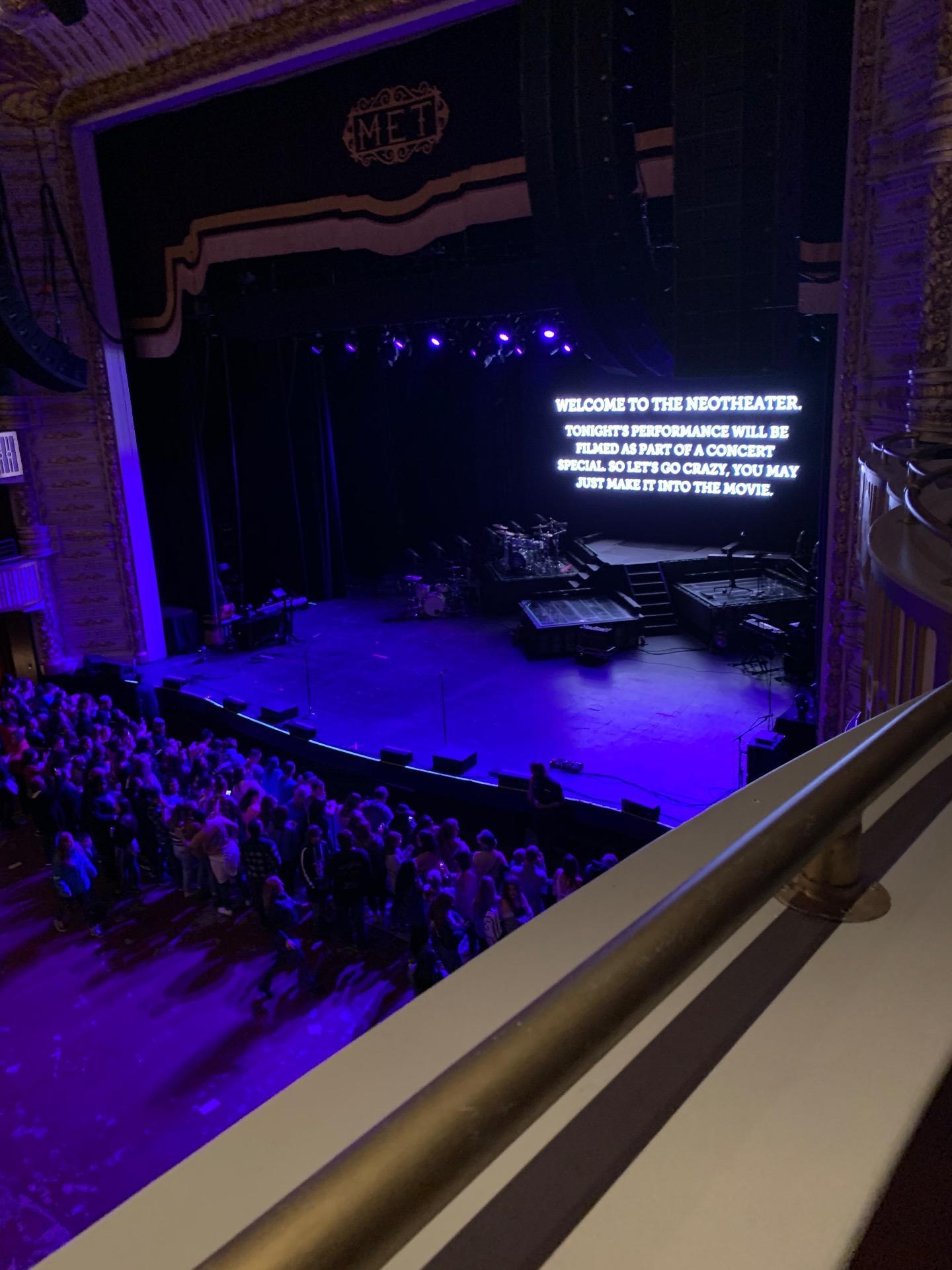 The Met Philadelphia Section Loge 1 Row A Seat 3