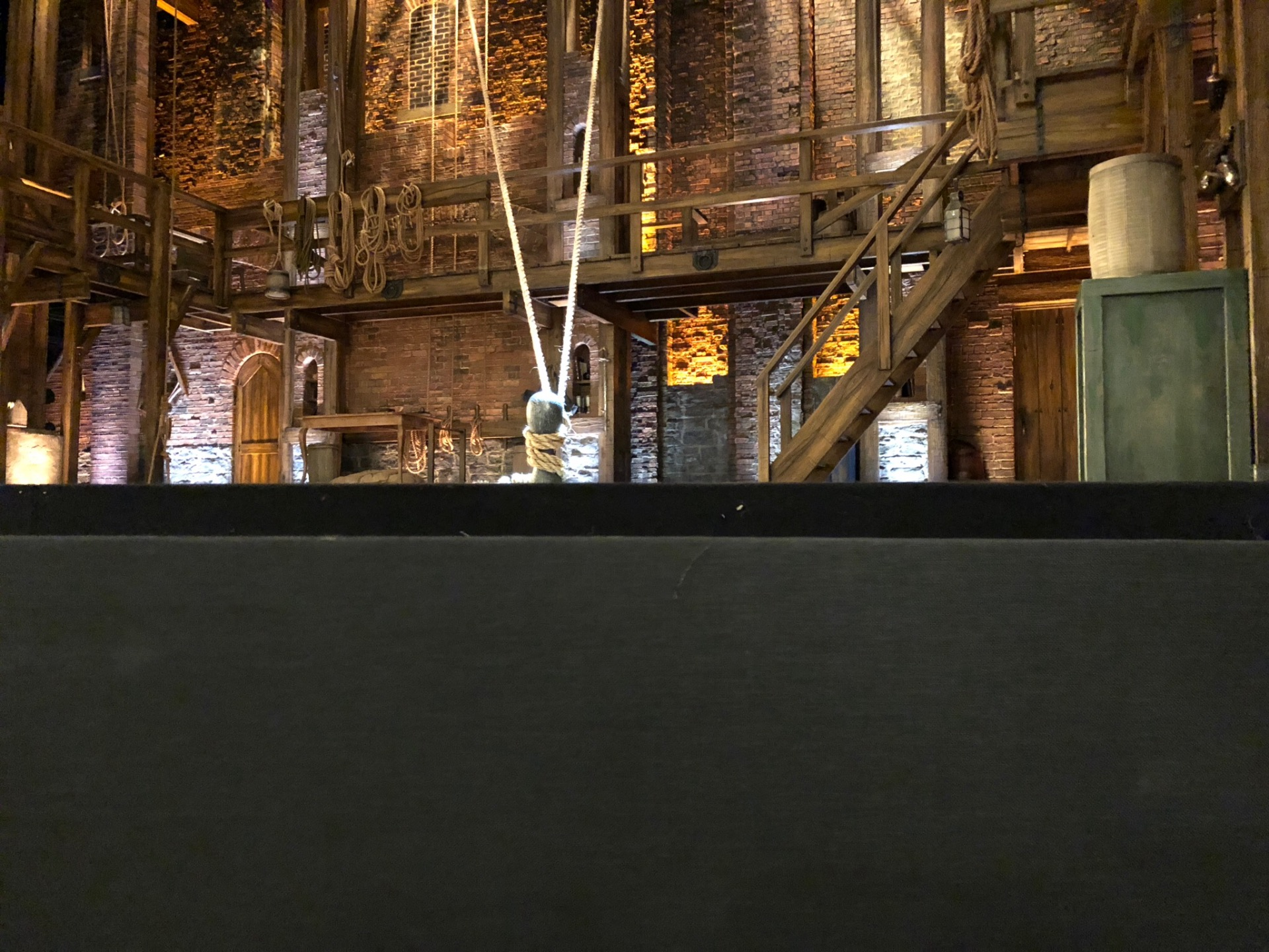 Victoria Palace Theatre Section Stalls Row A Seat 3