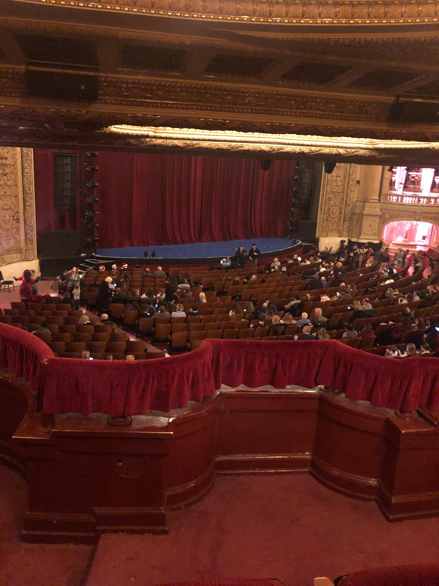 Chicago Theatre Section Booth T Seat 1