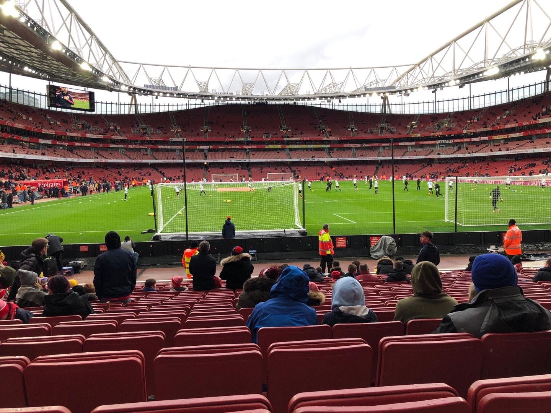 Emirates Stadium Section 26 Row 15 Seat 795