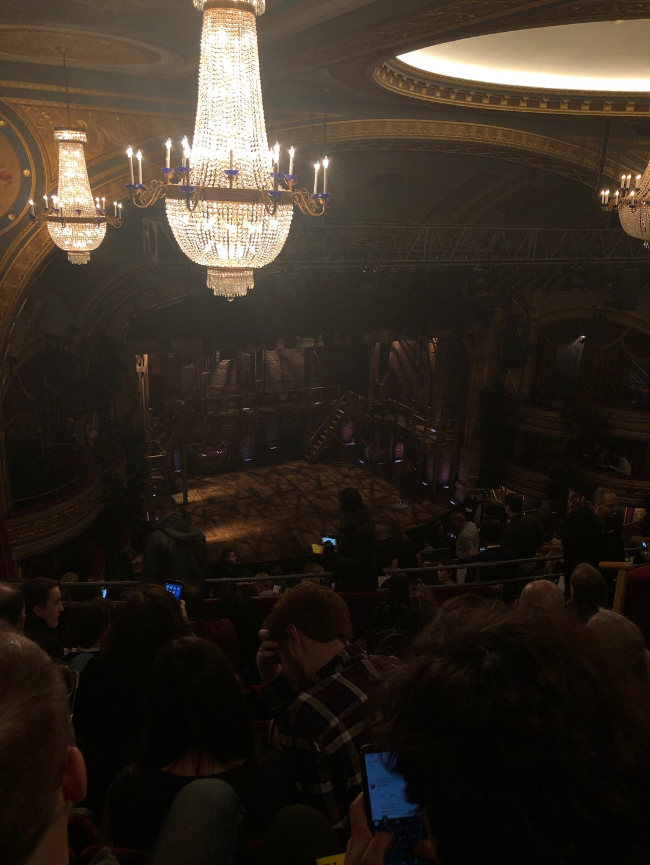Richard Rodgers Theatre Section Rear Mezzanine L Row M Seat 27