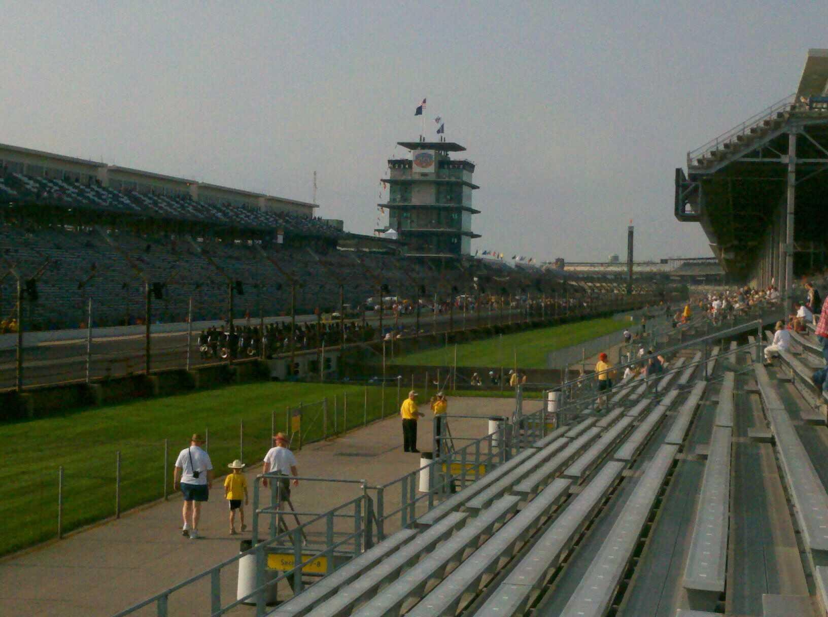 Indianapolis Motor Speedway Section Paddock 11 Row H Seat 10