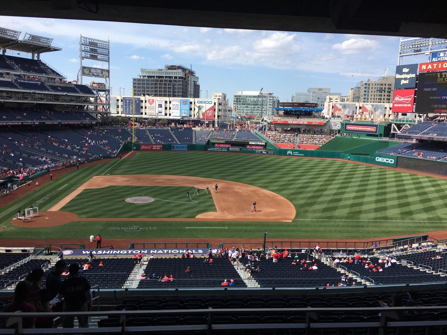 Nationals Park Section Lincoln Suite 27 Row Suite Seat 16