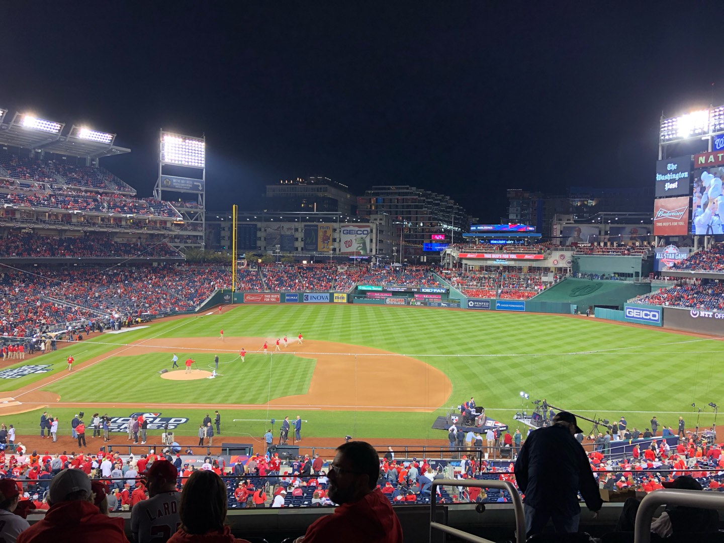 Nationals Park Section 219 Row F Seat 1