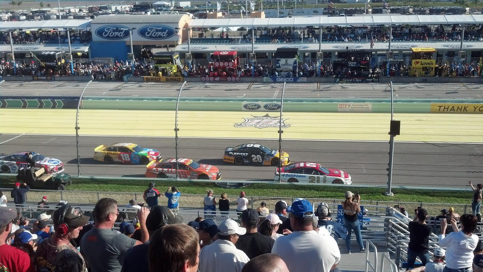 Homestead-Miami Speedway Section 236 Row 15 Seat 1