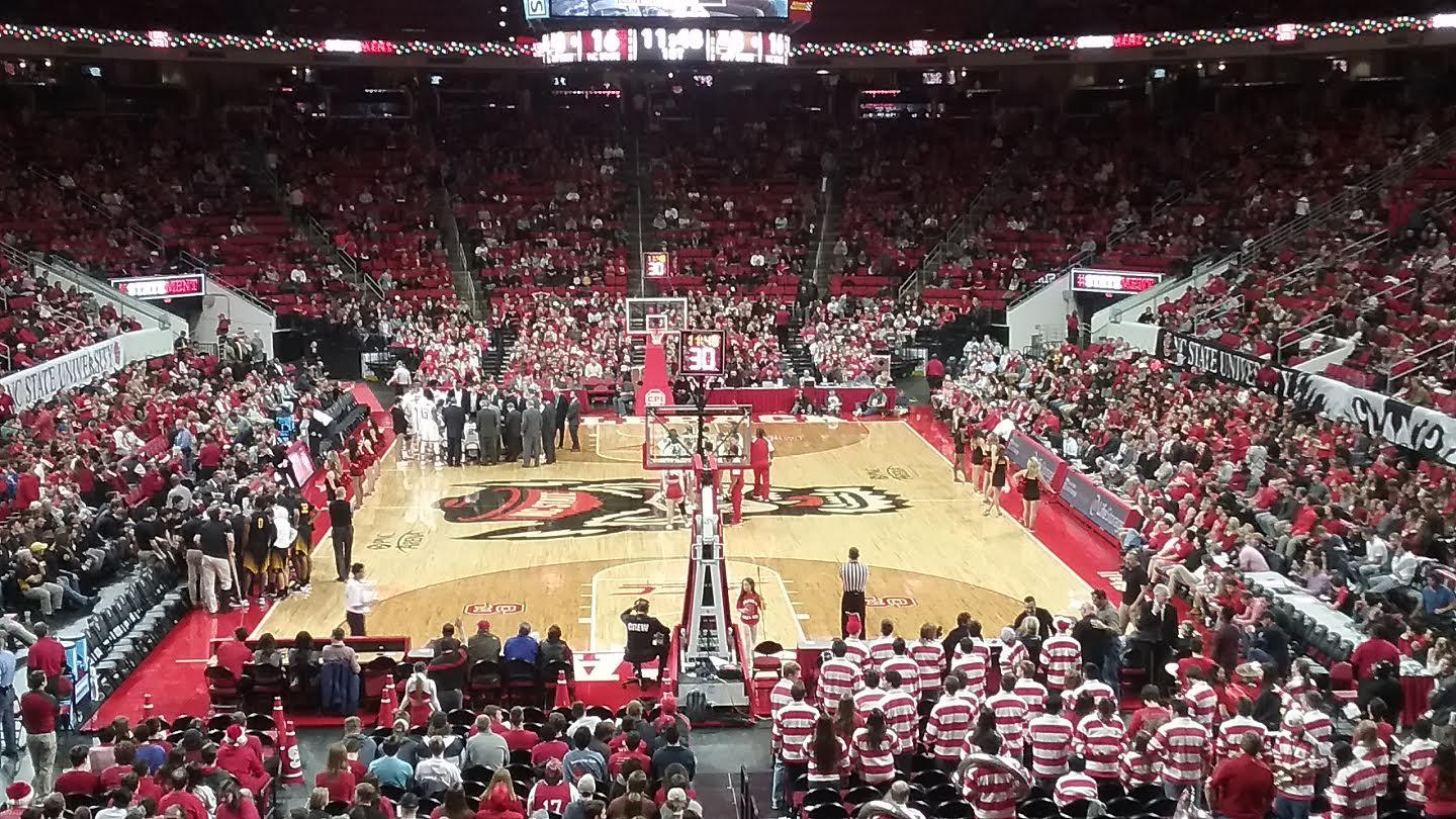 PNC Arena Section 112 Row X Seat 2