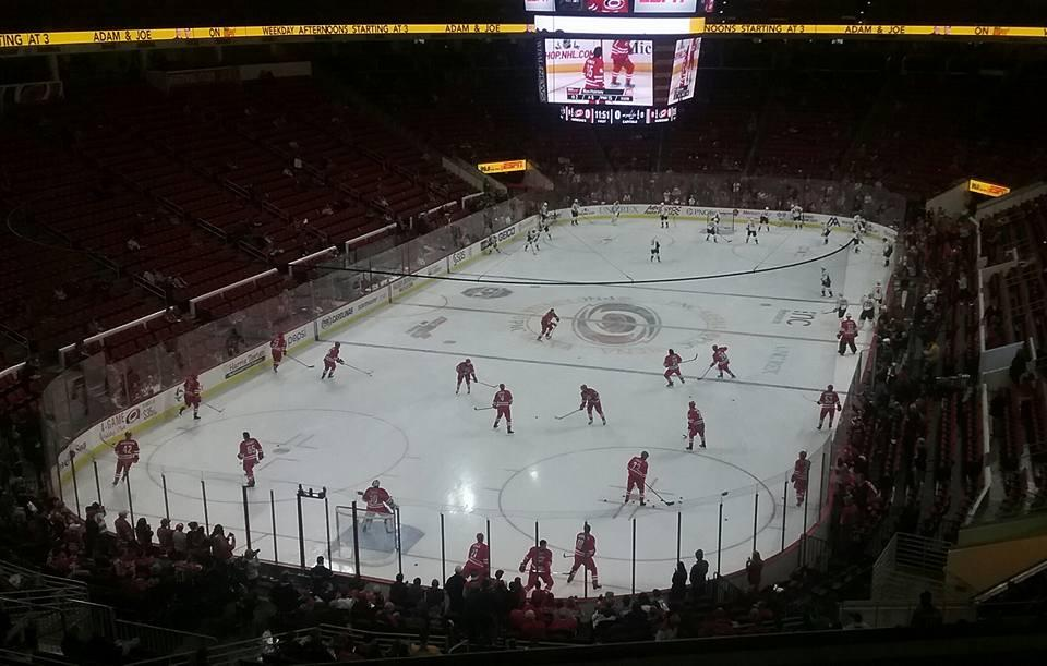 PNC Arena Section 211 Row D Seat 8