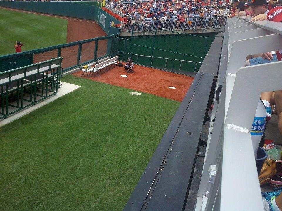 Nationals Park Section 101 Row L Seat 24