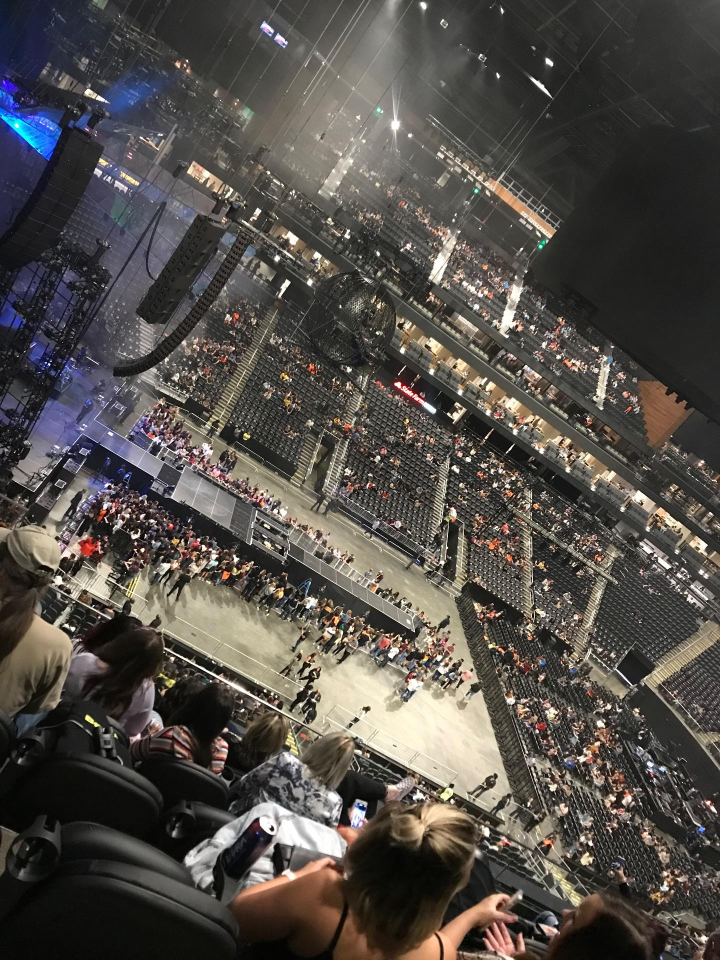 State Farm Arena Section 224 Row F Seat 17
