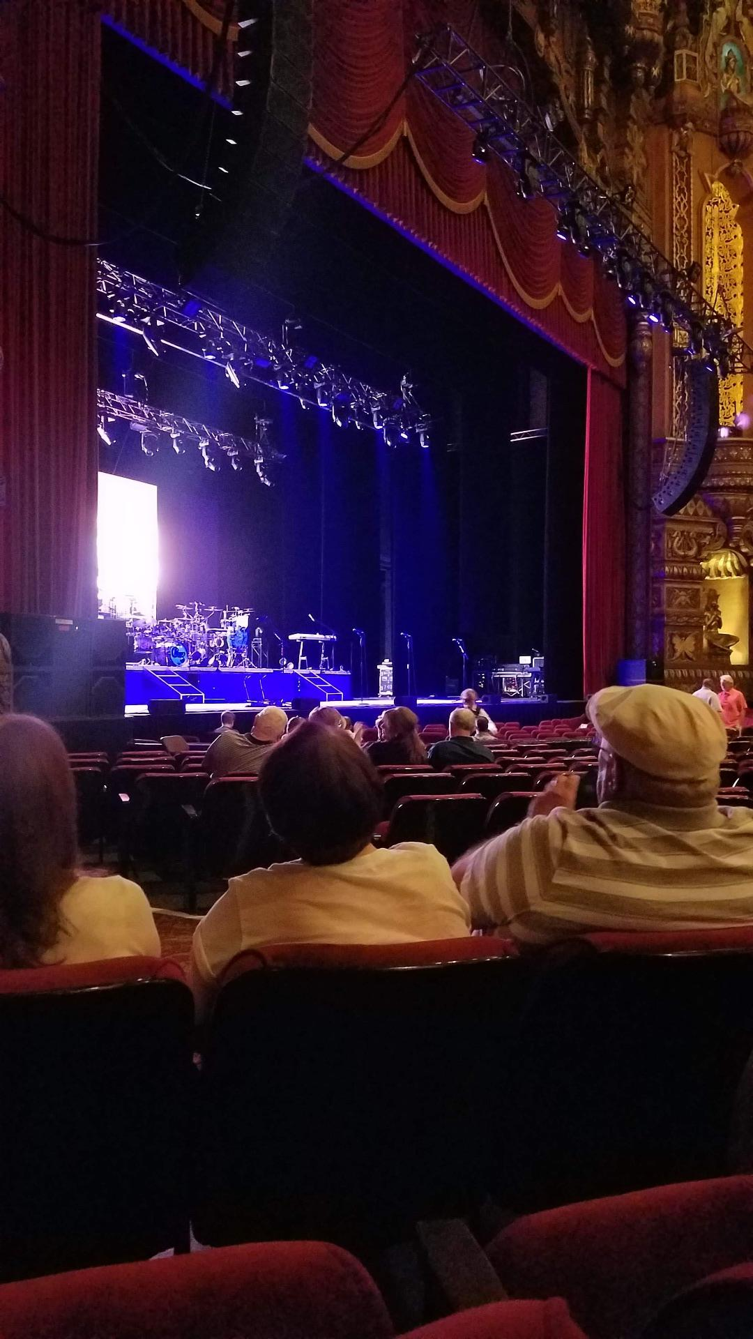 The Fabulous Fox Theatre (St. Louis) Section Orchestra 1 Row L Seat 43