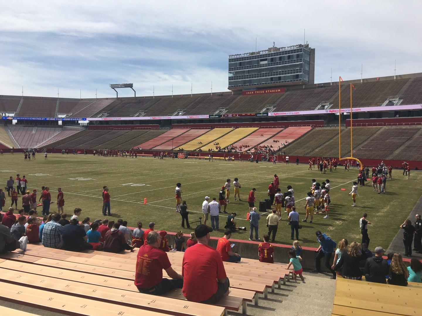 Jack Trice Stadium Section 41 Row 17 Seat 1
