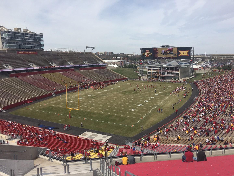 Jack Trice Stadium Section O Row 20 Seat 30