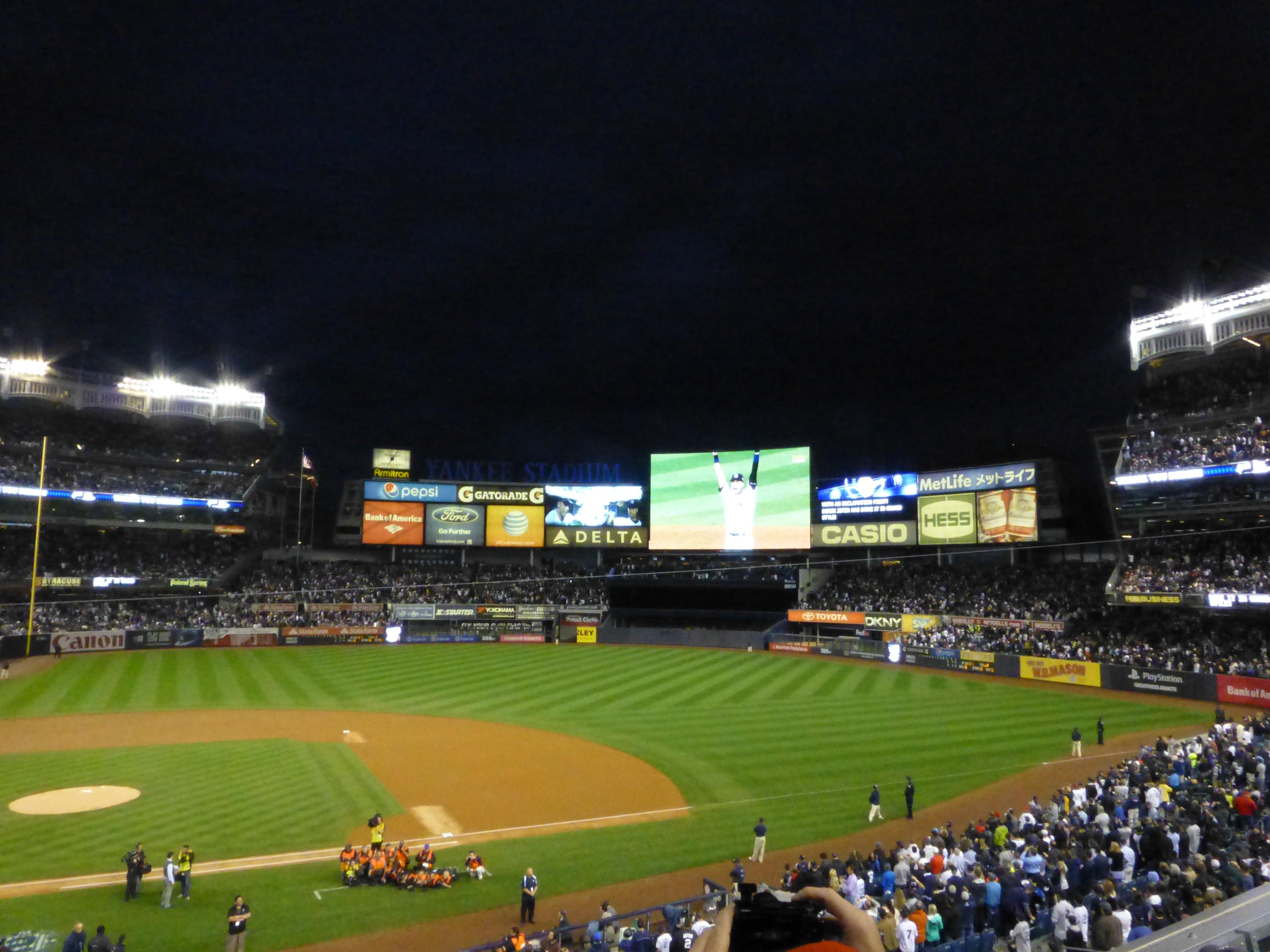 Yankee Stadium Section 216 Row 3 Seat 13