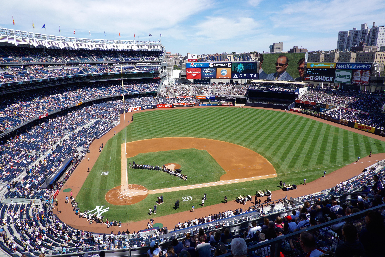Yankee Stadium Section 418 Row 1 Seat 2