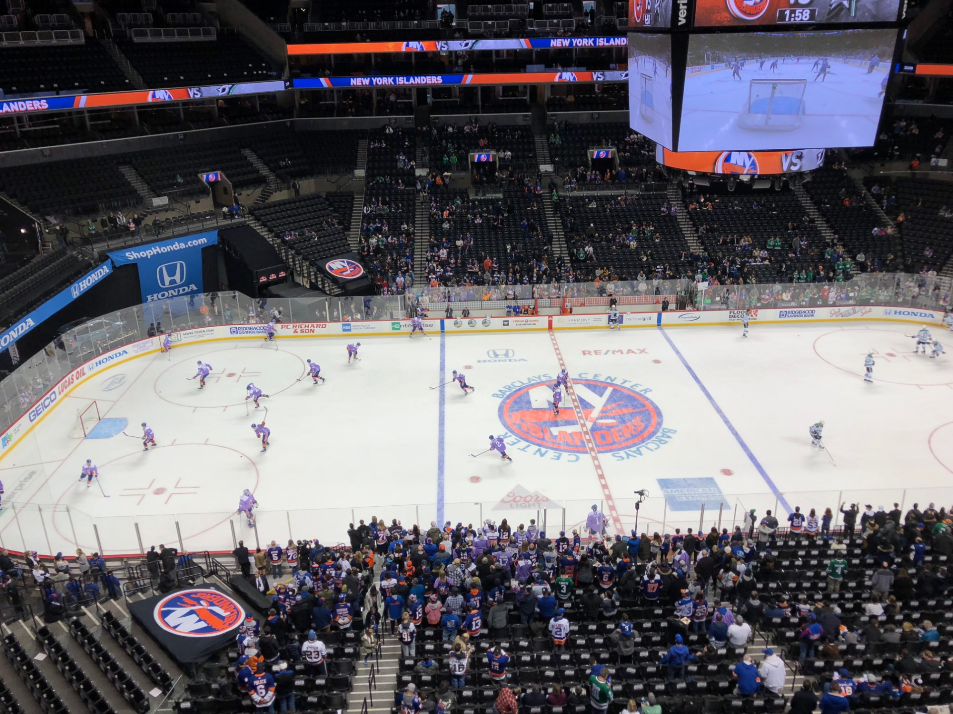 Barclays Center Section 226 Row 2 Seat 7