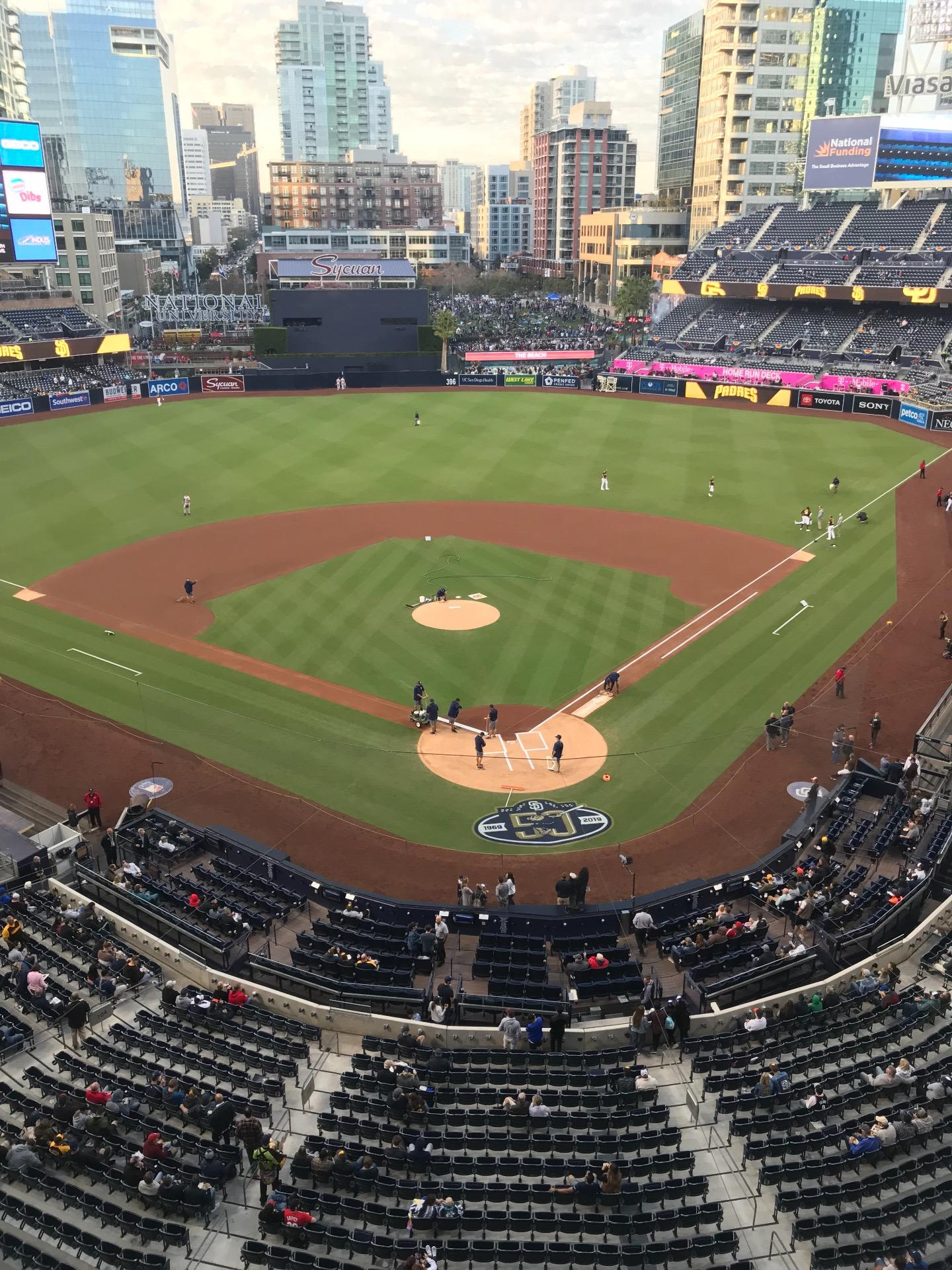PETCO Park Section 302 Row 3 Seat 7