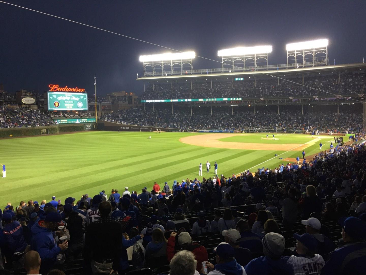 Wrigley Field Section 201 Row 15 Seat 1