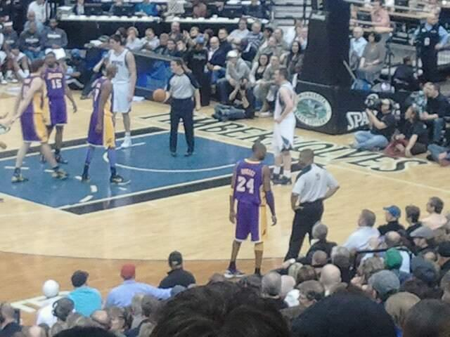 Target Center Section 111 Row P Seat 5