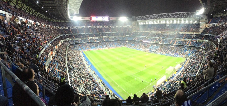 Santiago Bernabéu Stadium Section 516 Row 8 Seat 21