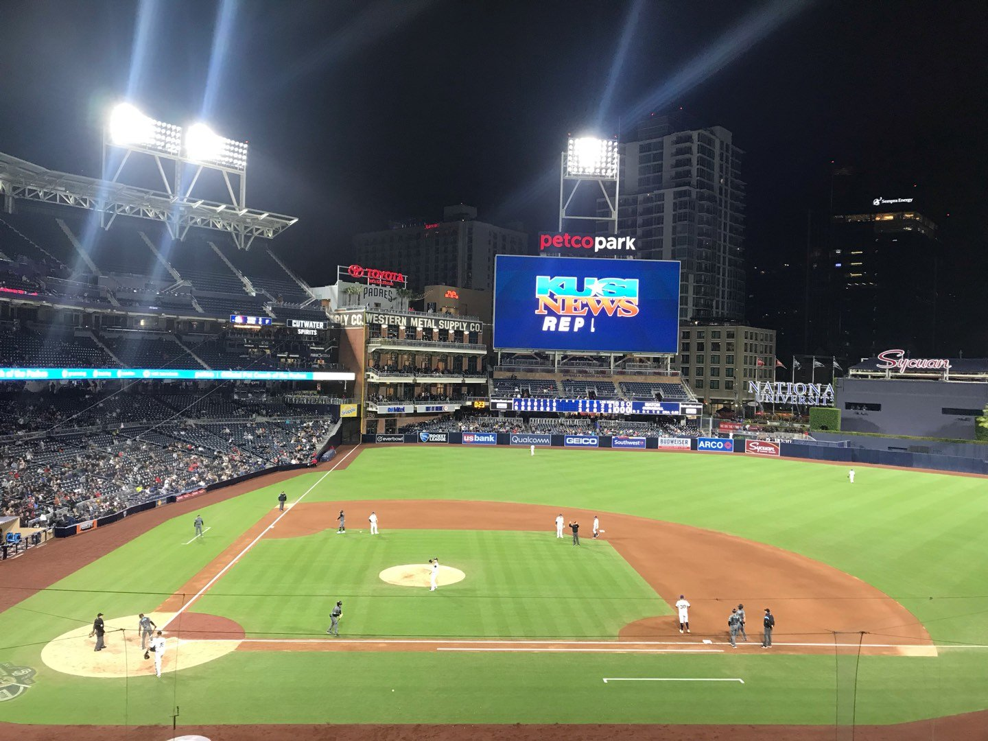 PETCO Park Section 205 Row 6 Seat 12