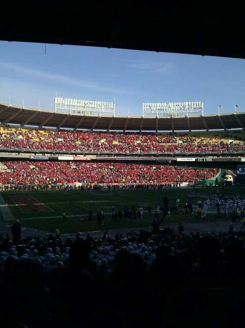 Rfk Stadium Section 113 Row aa Seat 13