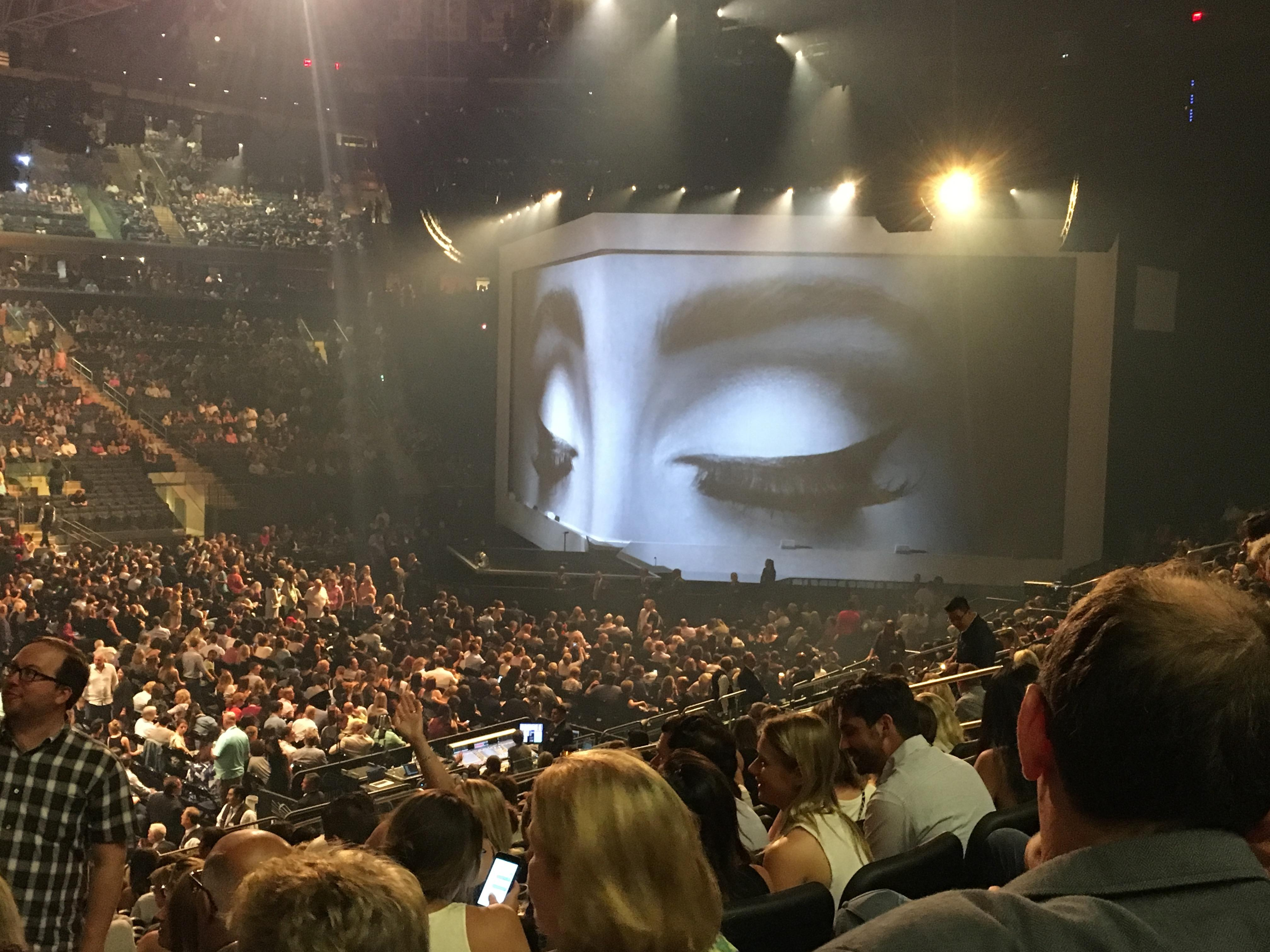 Madison Square Garden, section 106, row 17, seat 3 - Adele tour ...