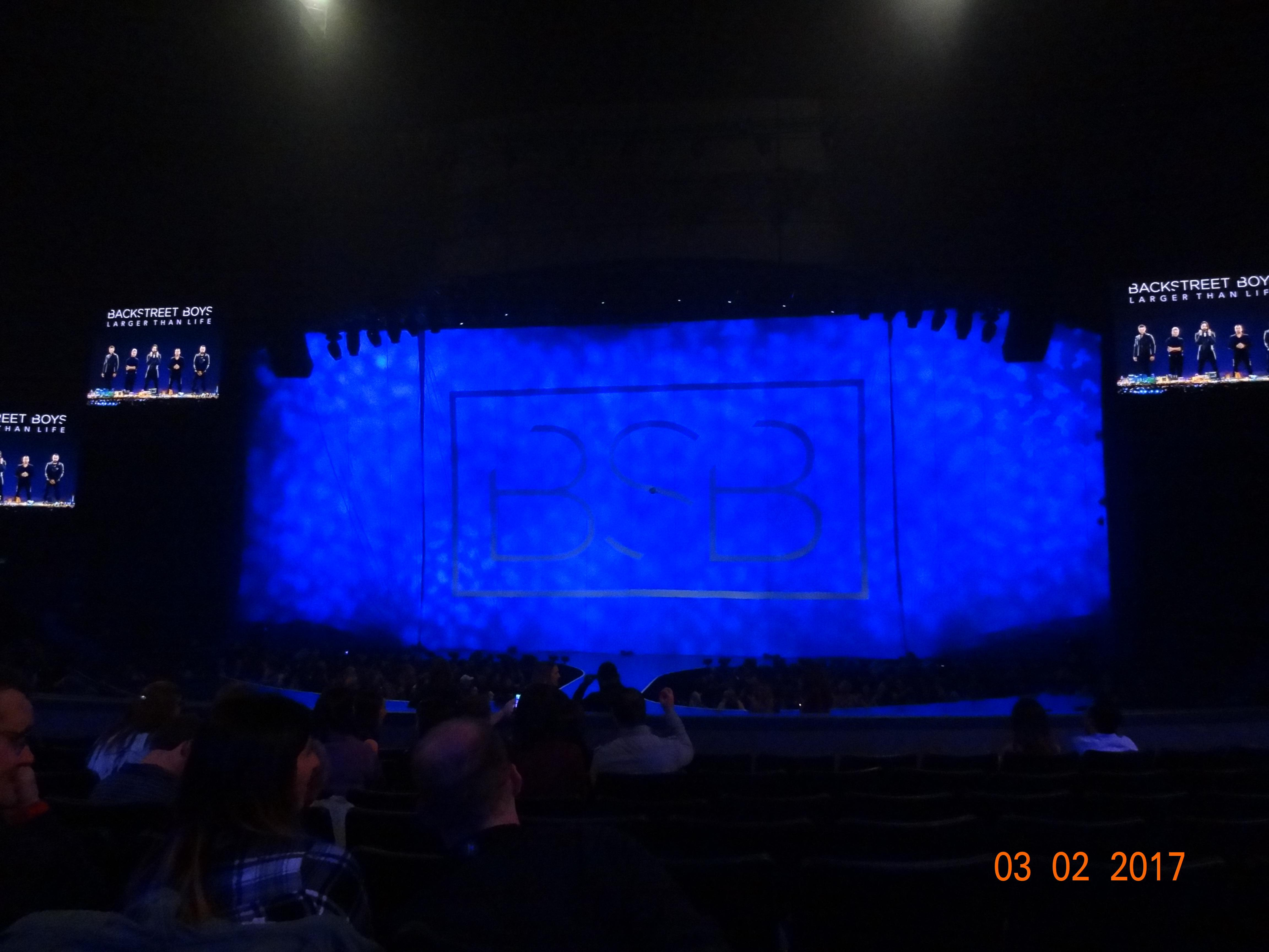 Zappos Theater Section 103 Row H Seat 10-11