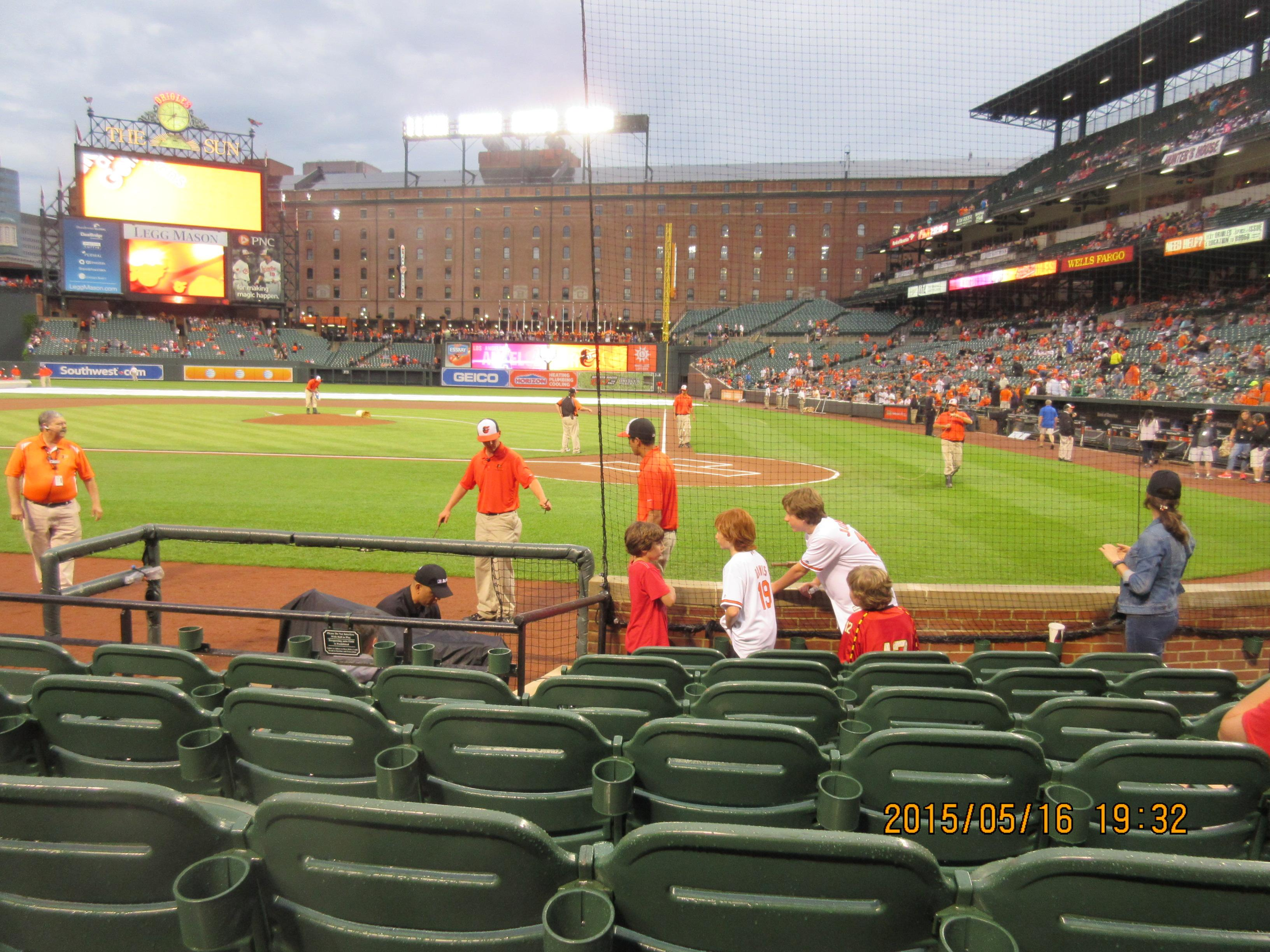 Oriole Park at Camden Yards Section 46 Row 5 Seat 8