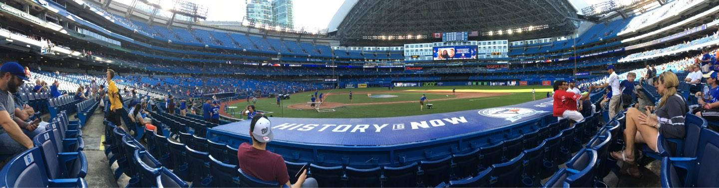 Rogers Centre Section 119R Row 9