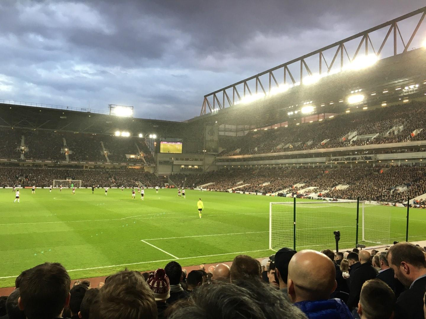 Boleyn Ground Section STBL3 Row R Seat 68