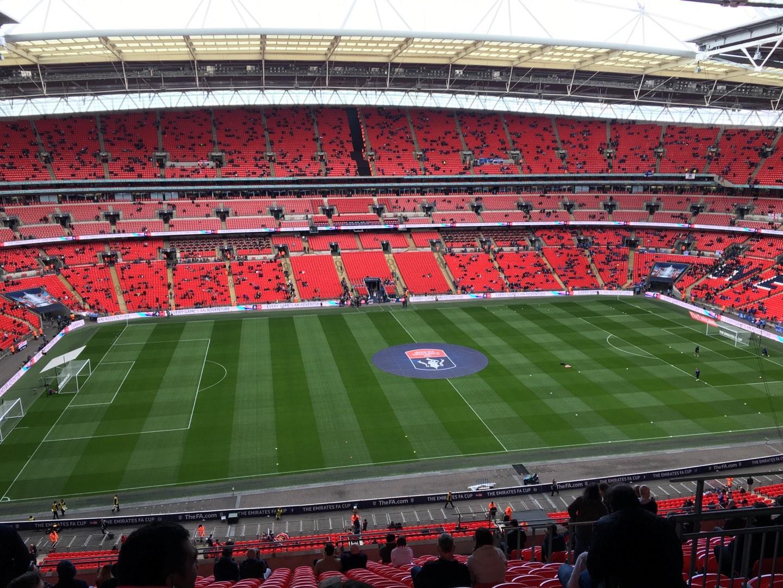 Wembley Stadium Section 528 Row 19 Seat 54