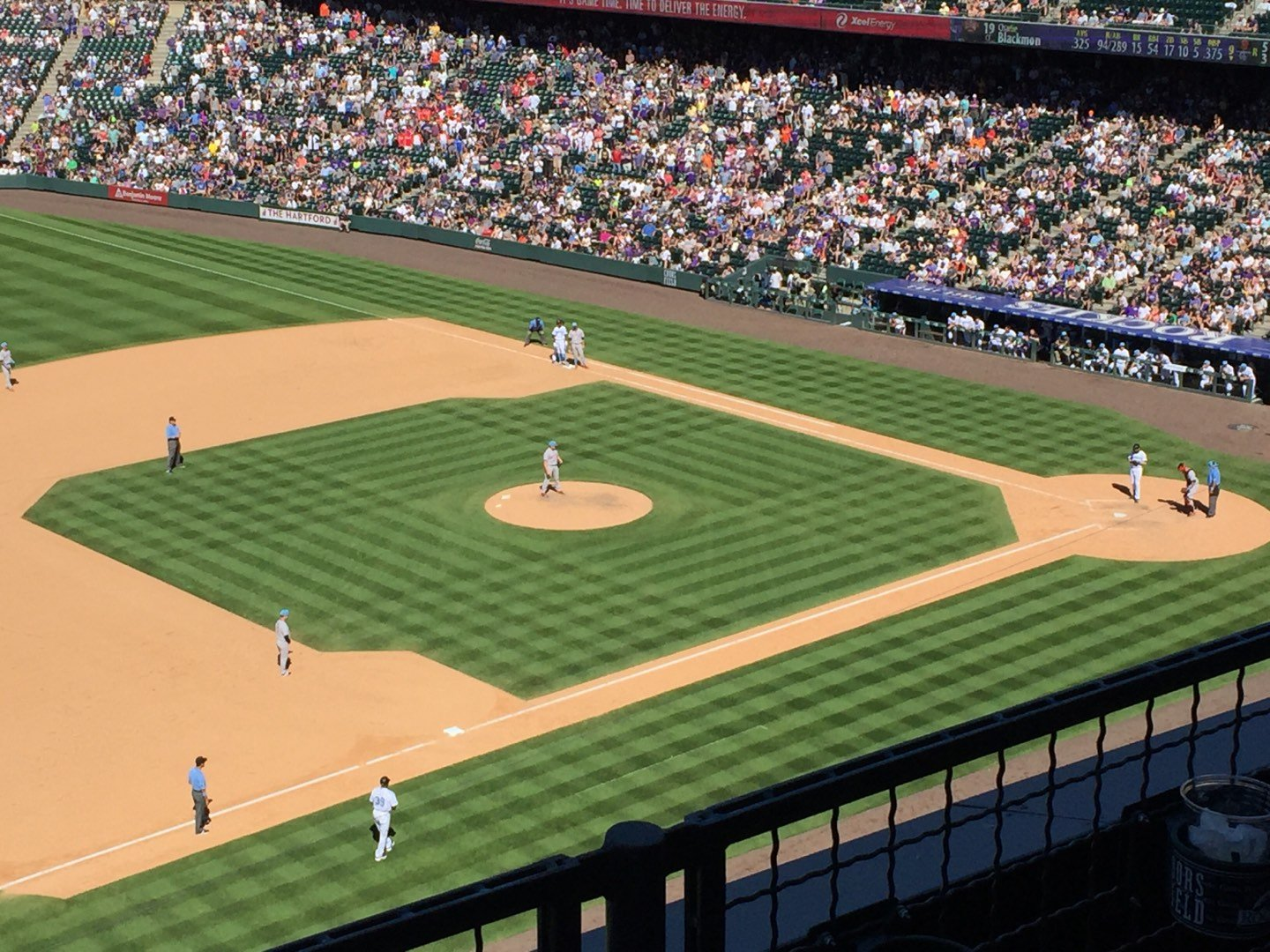 Coors Field Section L343 Row 2 Seat 8