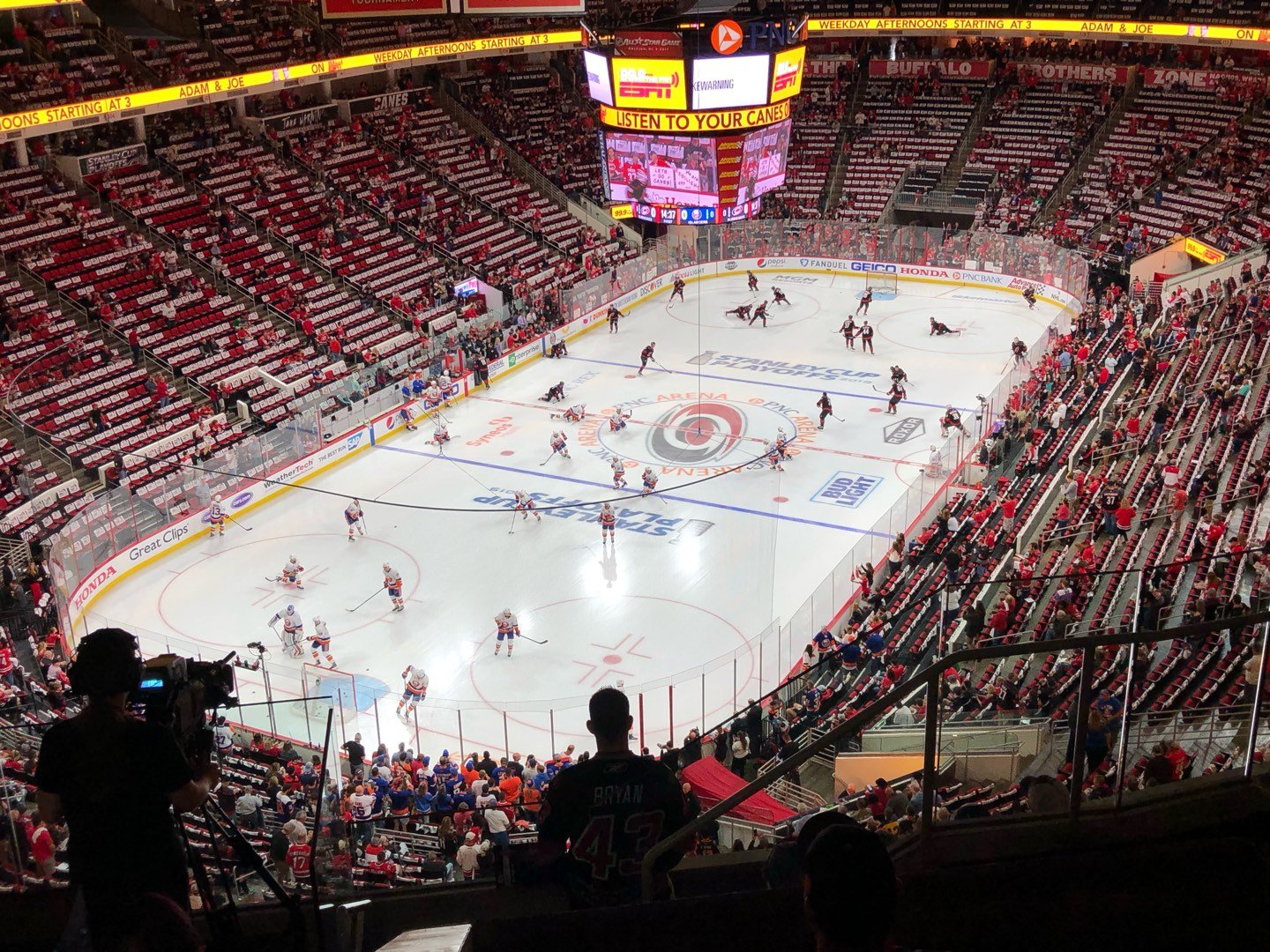PNC Arena Section 331 Row G Seat 5