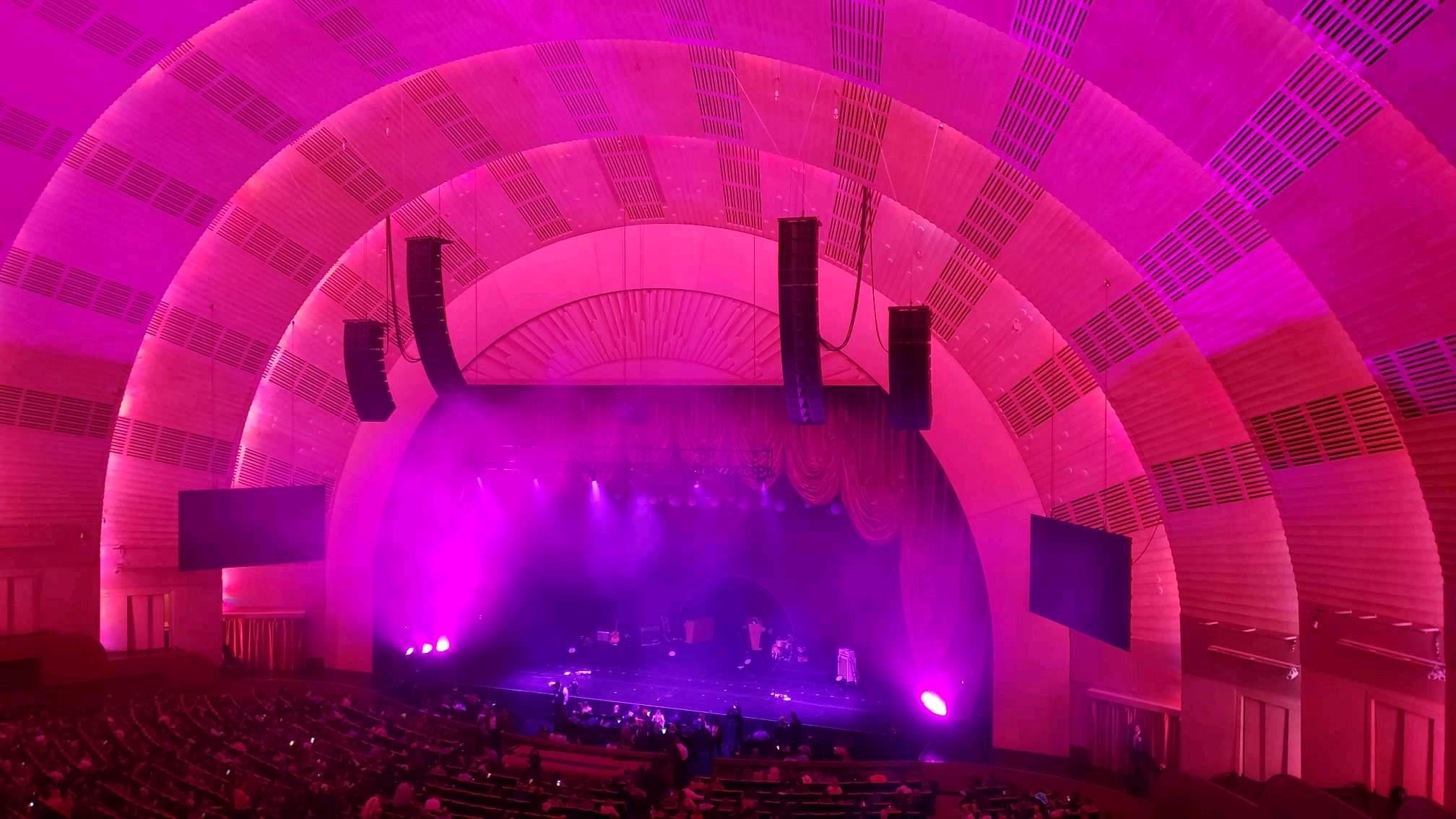 Radio City Music Hall Section 2nd Mezzanine 2 Row D Seat 203