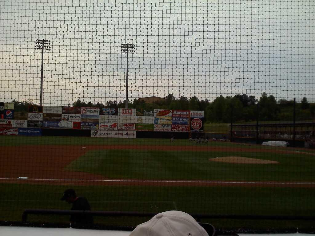 L.P. Frans Stadium Section n Row 5 Seat 11