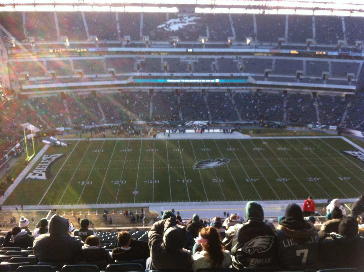 Lincoln Financial Field Section 224 Row 24 Seat 10