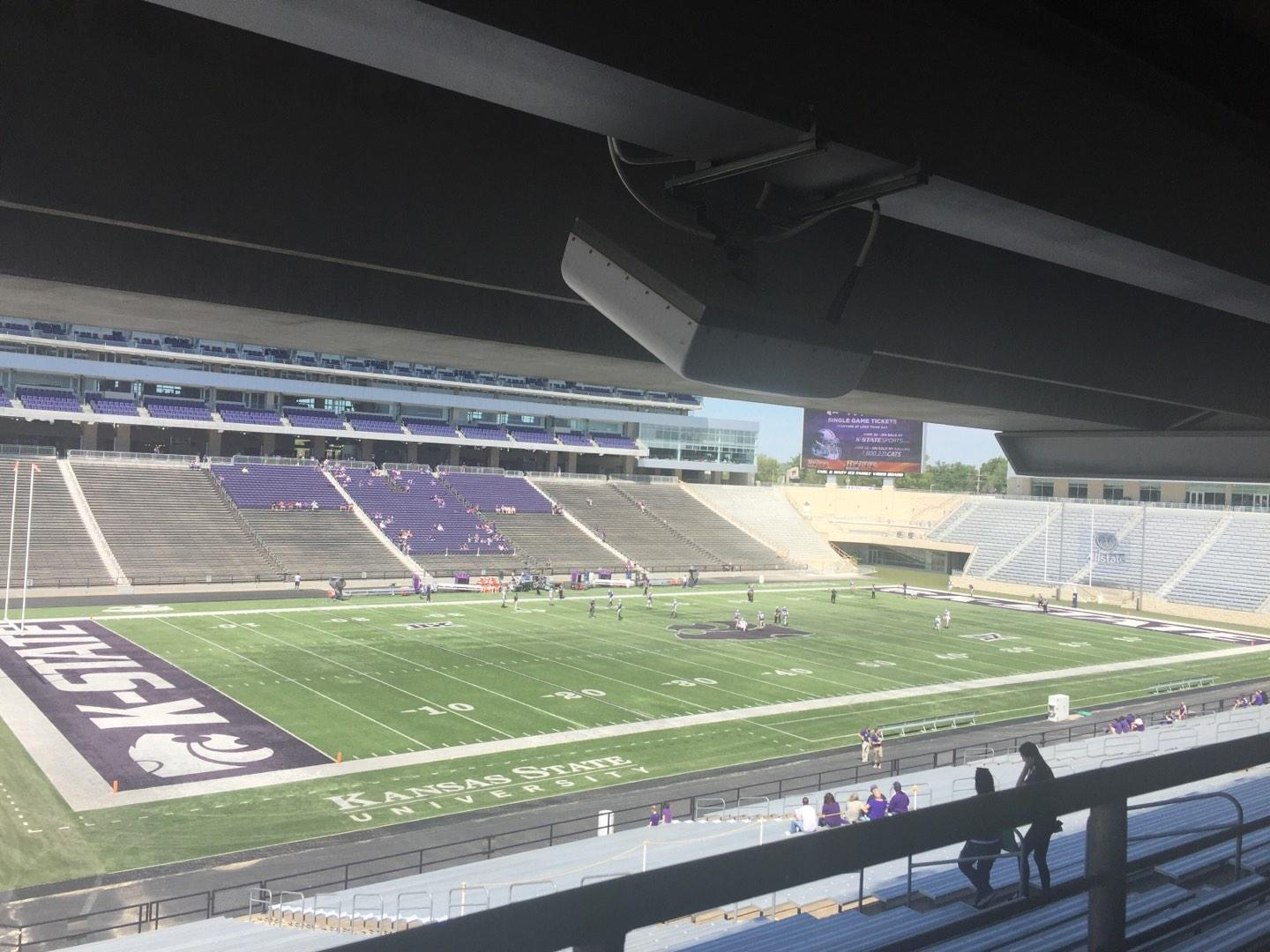 Bill Snyder Family Stadium Section 20 Row 45 Seat 14