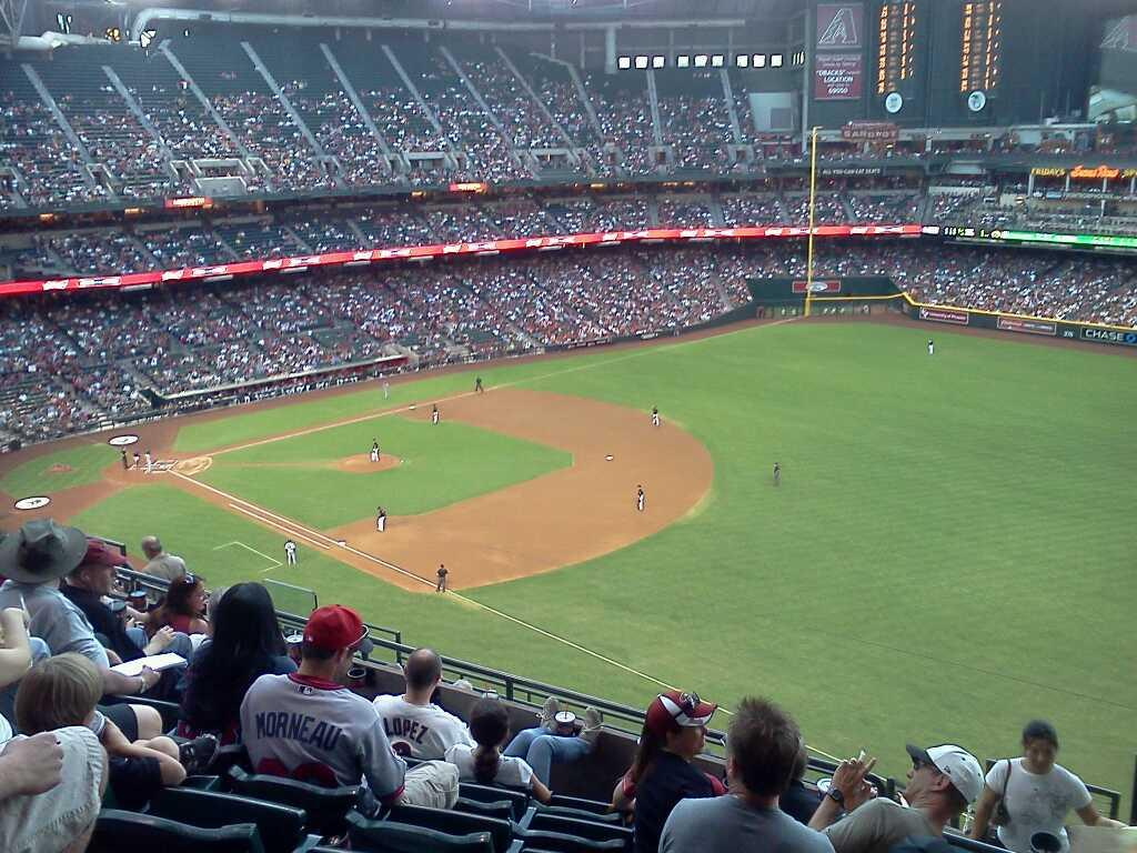 Chase Field Section 304 Row 13 Seat 1