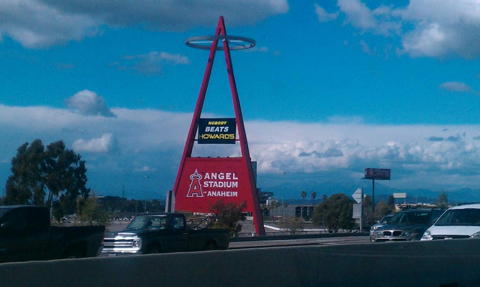 Angel Stadium Section Big A